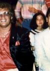mit Weltmeister Alexis Arguello in Las Vegas