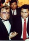 mit Muhammad Ali im Caesars Palace