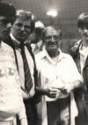 mit Angelo Dundee und Graciano Rocchigiani