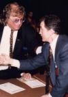 mit Weltmeister Barry McGuigan