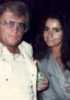 mit Brigitte Cimaroli (Miss World) in der Tennis Bar Bad Homburg