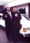mit Weltmeister Dariusz Michalczewski in Frankfurt