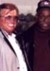 mit dem Boxtrainer Don Turner