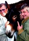mit meinem Freund dem Schauspieler Heinz Hoenig auf der Finca auf Mallorca