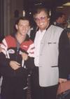 mit dem ungarischen Weltmeister Istvan Kovac