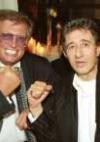 mit Schauspieler Rolf Zacher