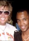 mit Weltmeister Sugar Ray Leonard