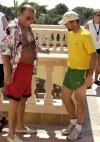 mit Weltmeister Sven Ottke im Robinson Club auf Mallorca