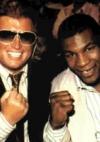 mit dem Weltmeister Mike Tyson