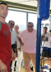 mit Wladimir Klitschko auf Mallorca