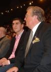 mit Marco Huck und Manfred Wolke am Ring in Basel